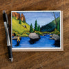 Hanson Creek Greeting Card