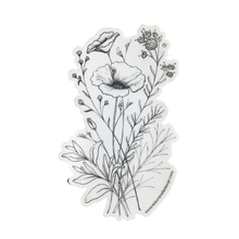 California Wildflower Bouquet Sticker