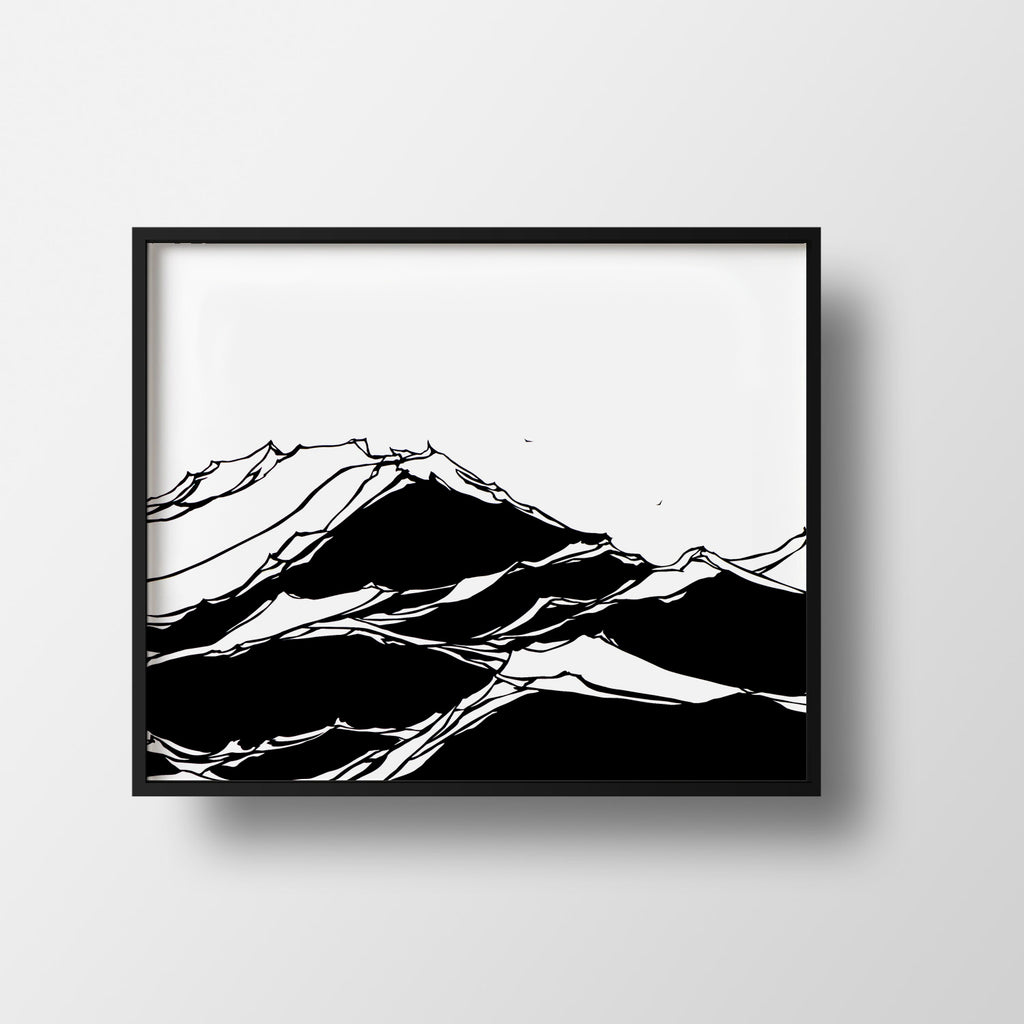 Viano Wave Work Print