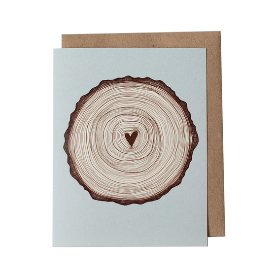 Love Stump Greeting Card