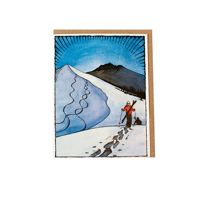 Hanson Ski Greeting Card