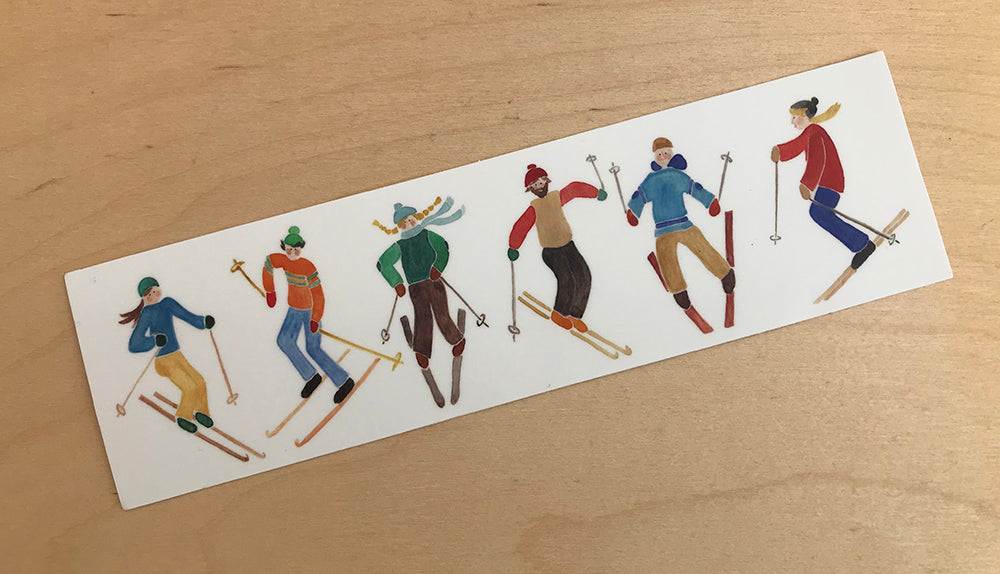 Baker Skiiers Sticker