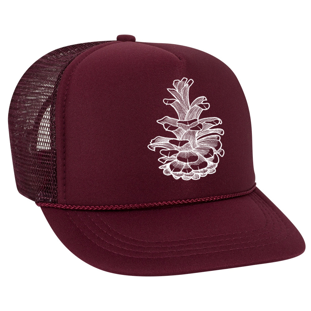 Pinecone Trucker Hat