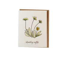 Peplow Balsamroot Greeting Card