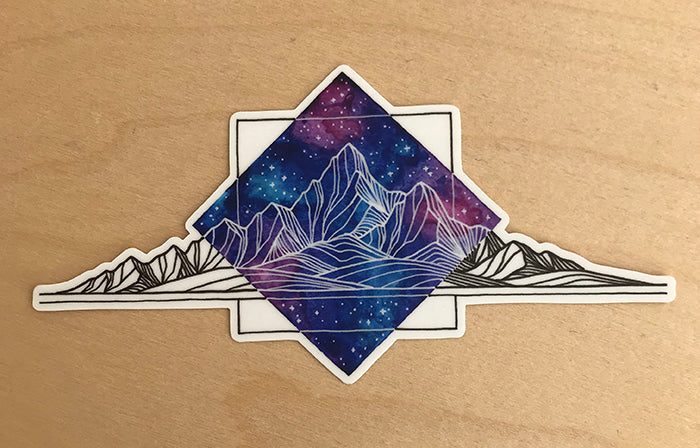 Dalton Galaxy Sticker