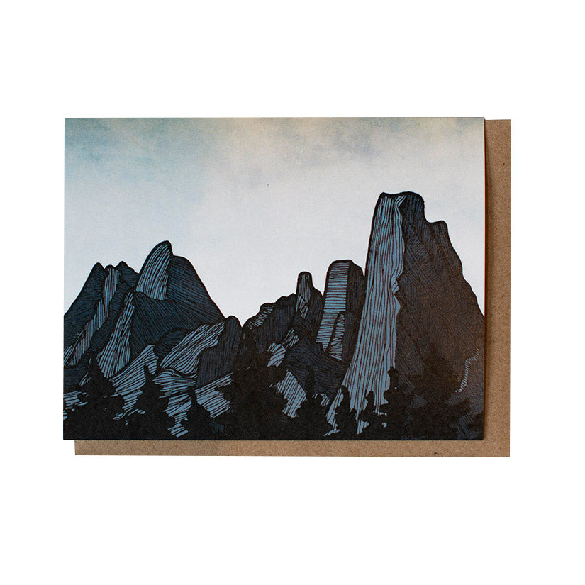 Spires Greeting Card