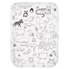 Animal Kingdom Swaddle Blanket