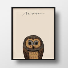 Be Wise Print