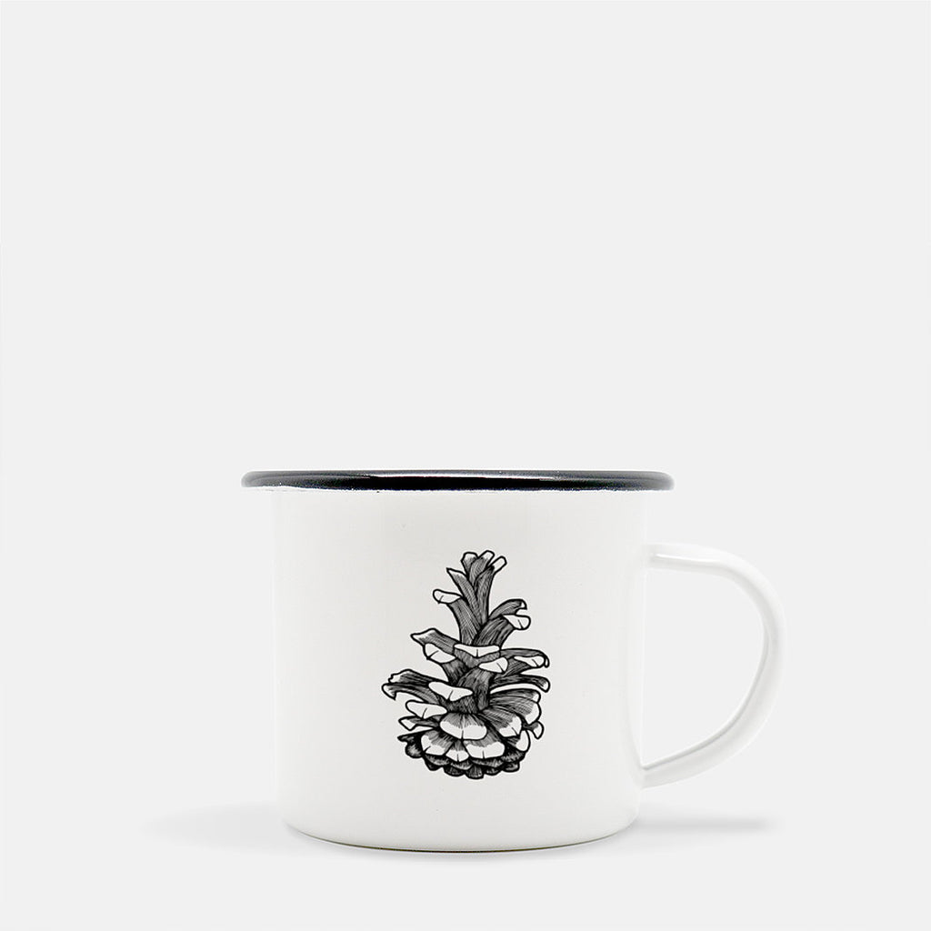 Pinecone Camp Mug