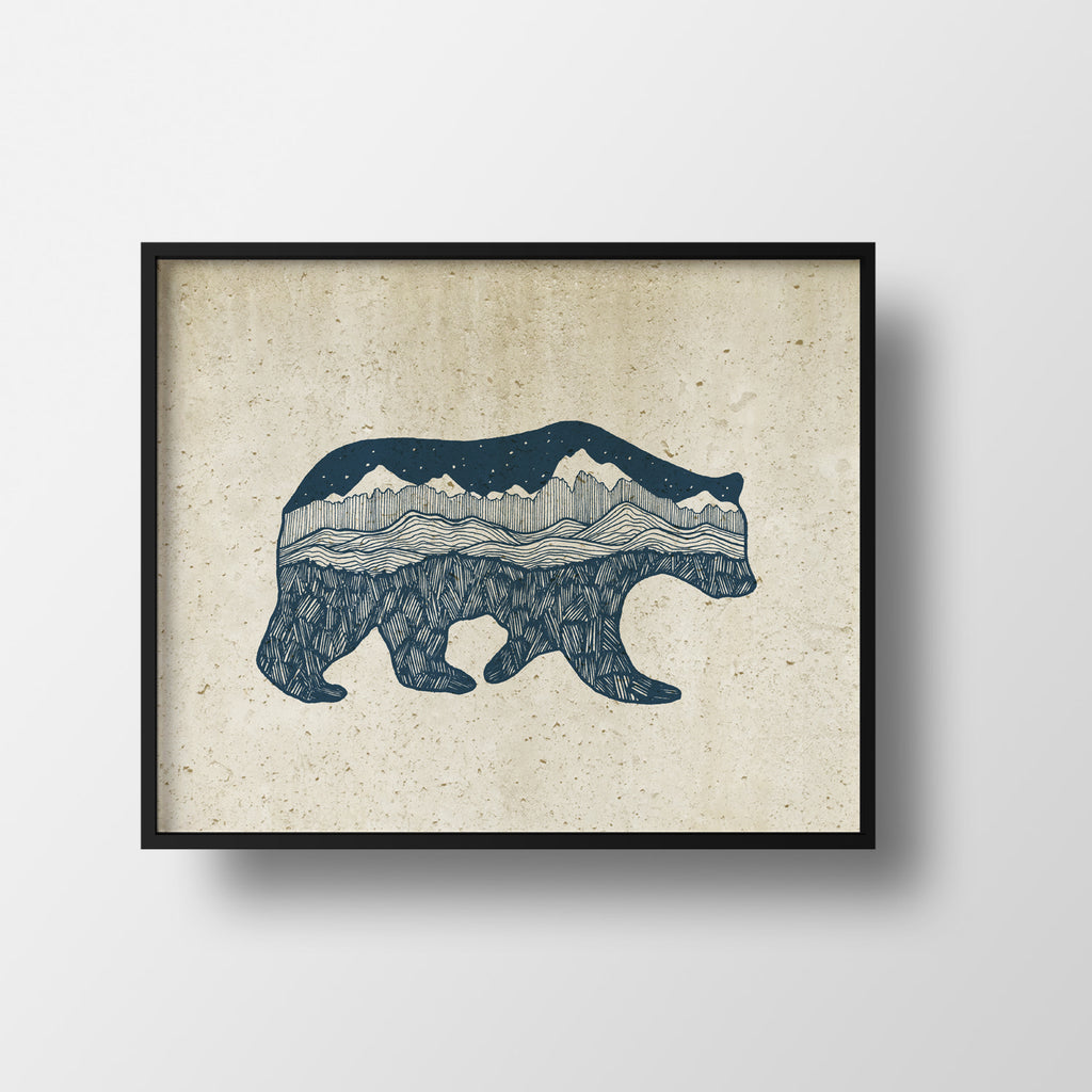 Grizzly Print