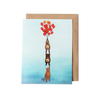 Bears and Balloons Greeting Card