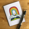 Rainbow Greeting Card