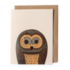 Woodland Owl Greeting Card