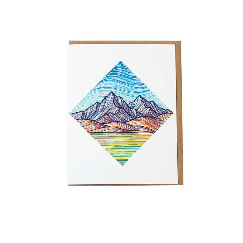 Dalton Diamond Greeting Card
