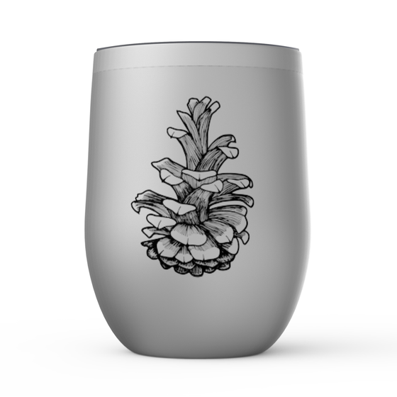 Pinecone Stemless Wine Tumblers