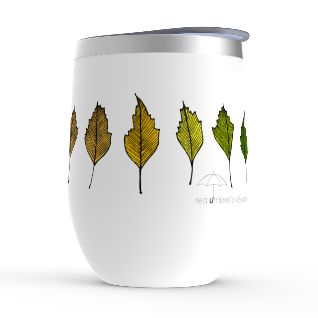 Leaf Gradient Stemless Wine Tumbler