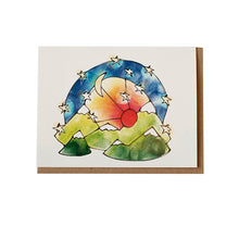 Ketler Blue Greeting Card