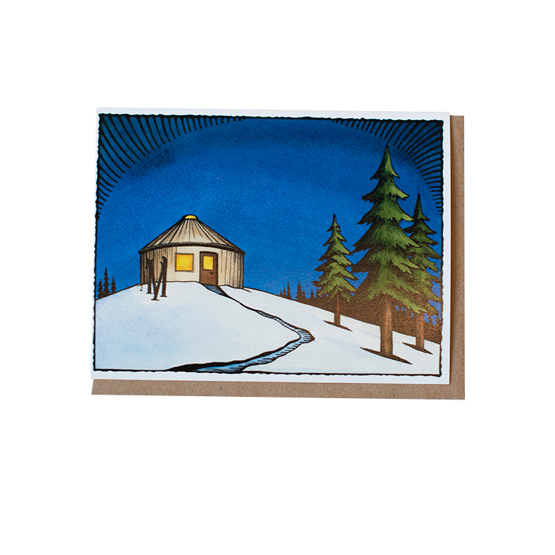 *PRE-ORDER* Hanson Yurt Greeting Card