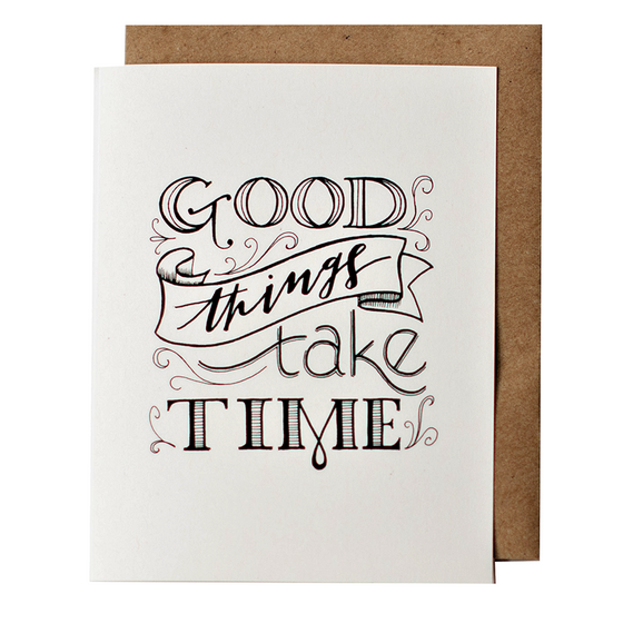 Good Things Greeting Card