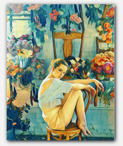 The Flower Room Painting