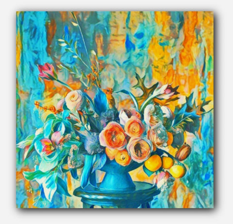 Heirloom Florals Painting
