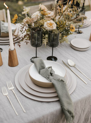 Modern Tableware Rentals in Los Angeles, CA