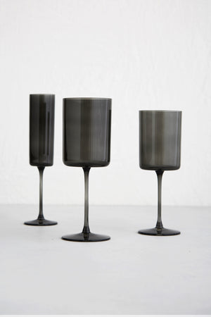Edge Glassware, Graphite