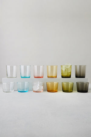 Hue Glassware, Clear
