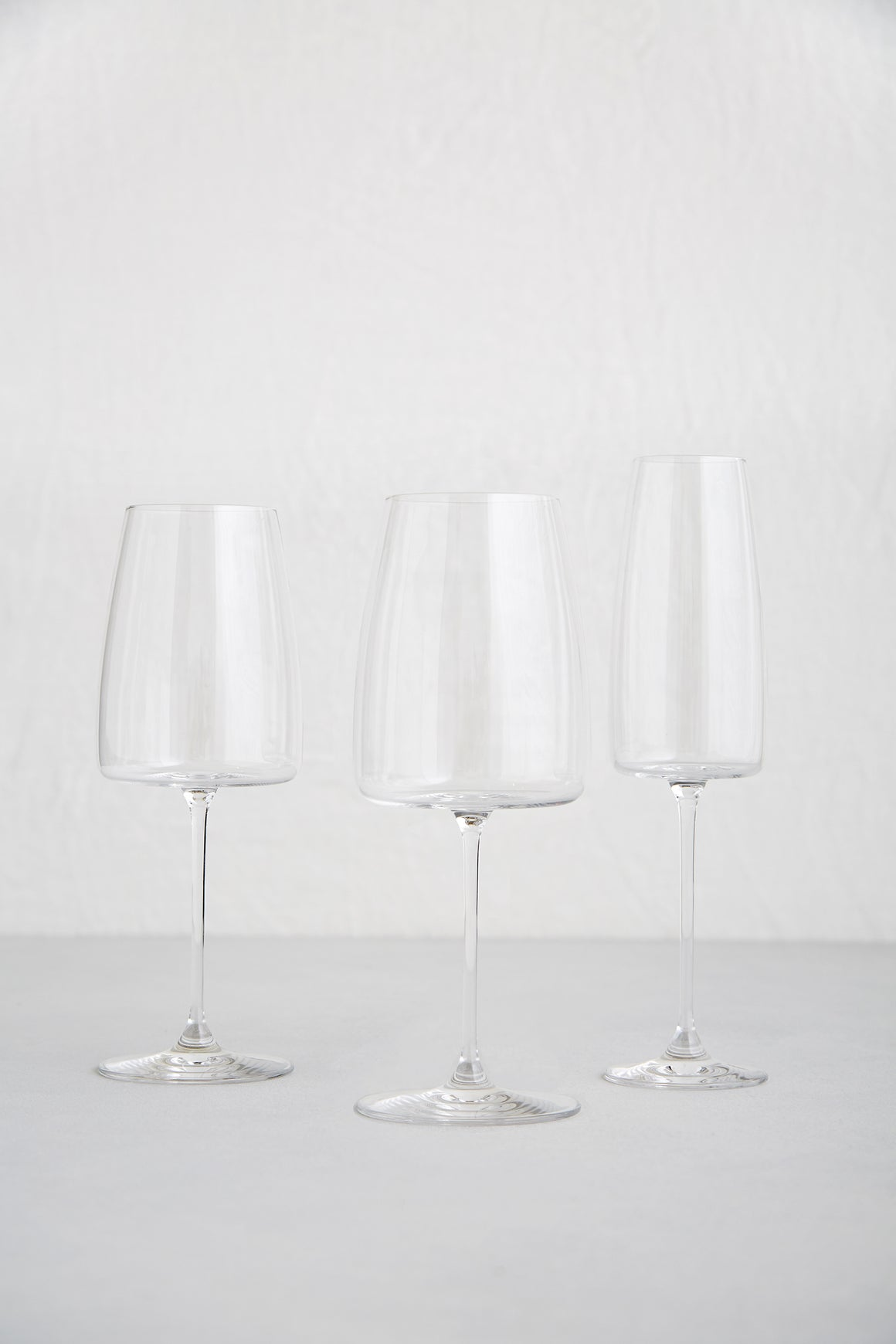 Luxe Glassware, Clear