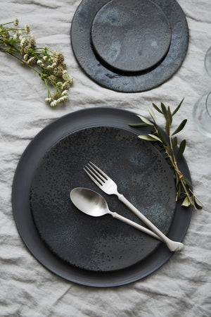 Modern Black Plates for Events in Los Angeles, CA