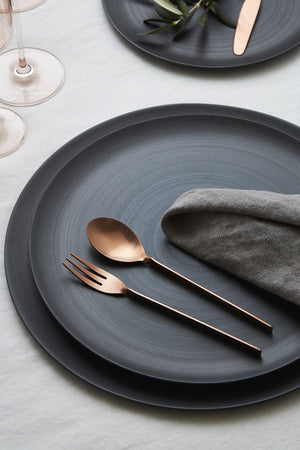 Anders Flatware, Brushed Copper