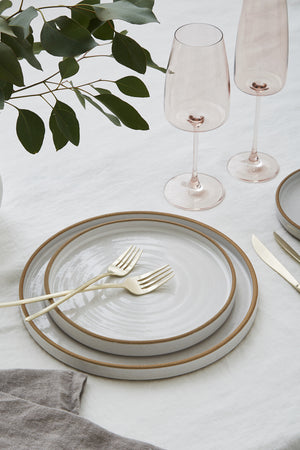 Luxe Glassware, Blush Rose