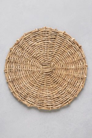 Woven Charger, Natural