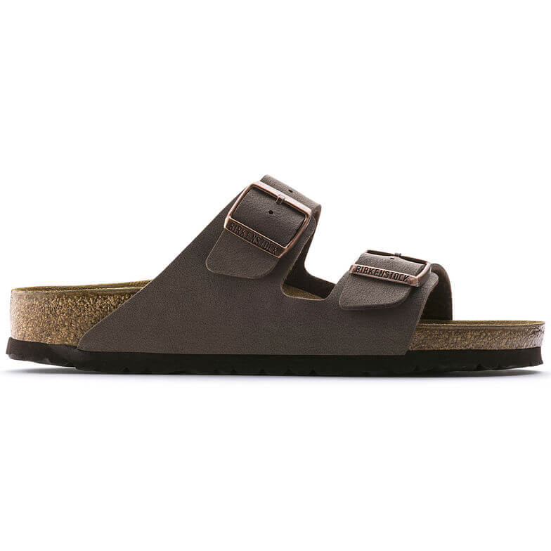Arizona Birko-Flor Nubuck in Mocca (Classic Footbed), Sandals, Birkenstock, Milu James St