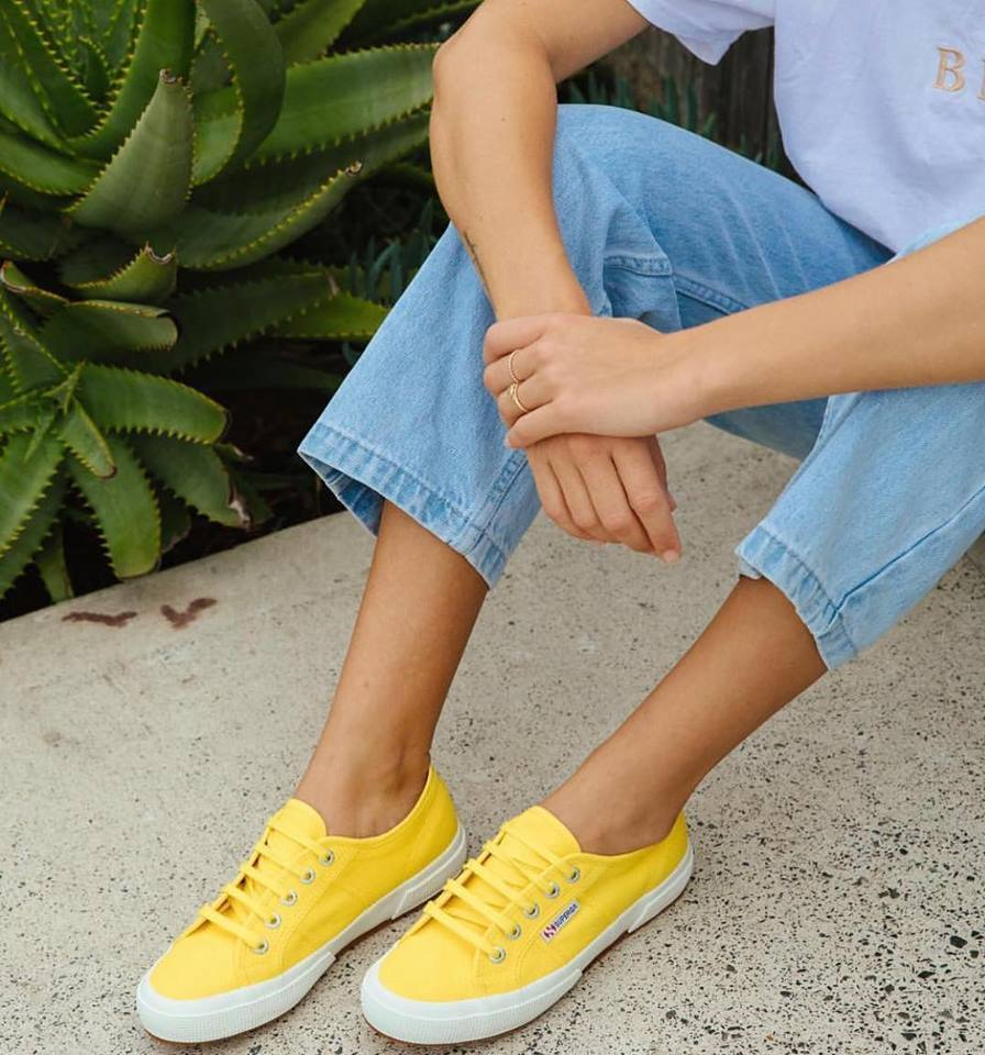 2750 Cotu Classic Canvas in Yellow Sunflower, Sneakers, Superga, Milu James St