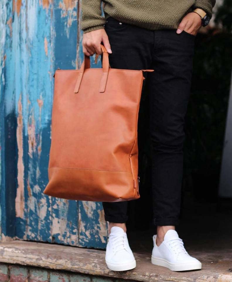 JOST FUTURA EXCHANGE 3 IN 1 BAG IN COGNAC, Bags, Jost, Milu James St