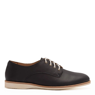 Derby Black (Lined) - Milu James St