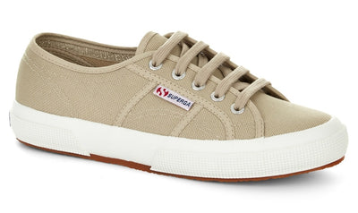 2750 Cotu Classic Canvas in Taupe, Unisex Sneakers, Superga, Milu James St