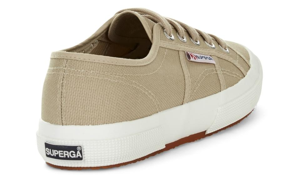 2750 Cotu Classic Canvas in Taupe, Sneakers, Superga, Milu James St