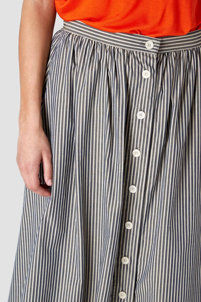 Benten melange skirt, Womenswear, Kings Of Indigo, Milu James St