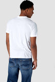 Darius rising sun flag tee white, mens tees, Milu James St, Milu James St