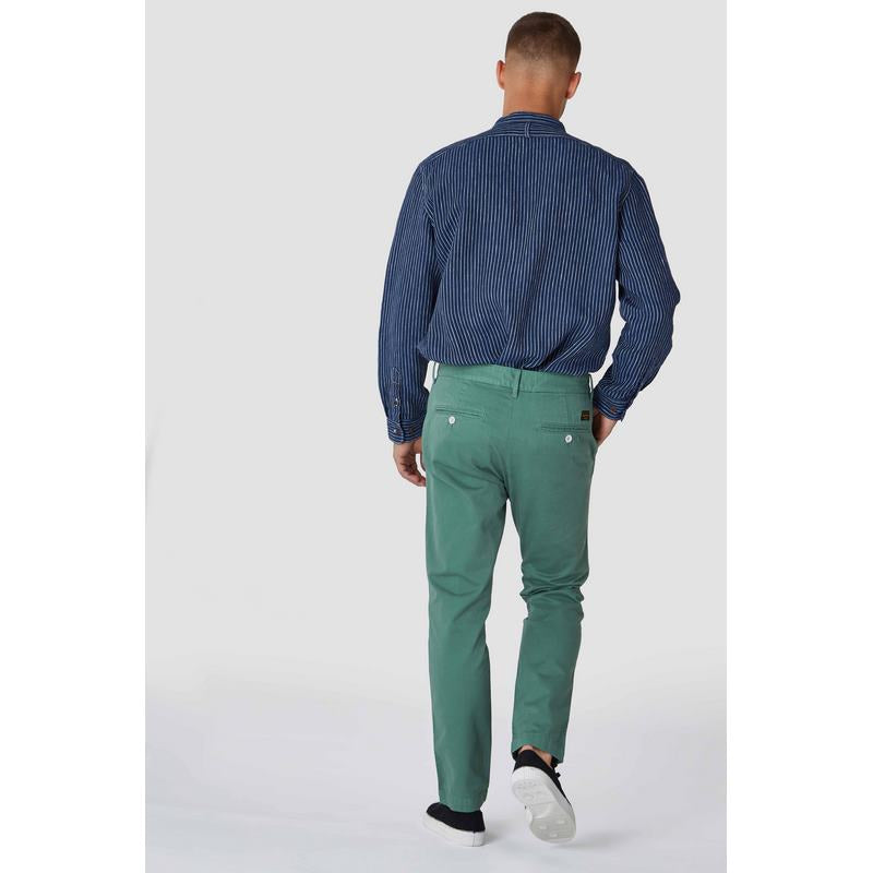 Sujin Pear Green, menswear, Kings Of Indigo, Milu James St