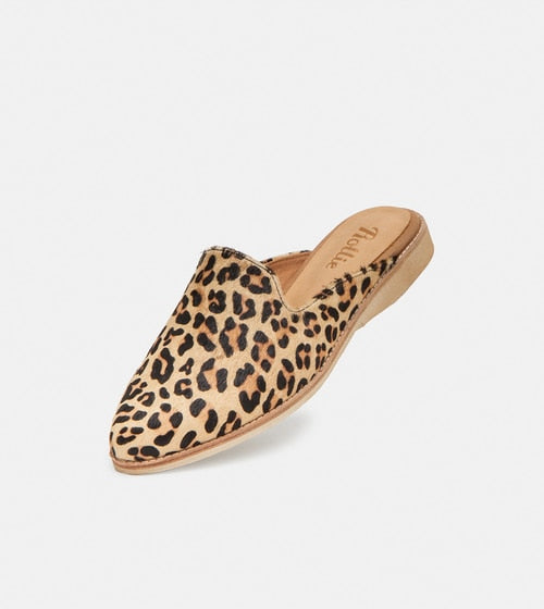 Madison Mule in Camel Leopard, Mules, Rollie Nation, Milu James St