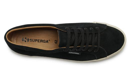 2804 sueu mens sneakers in black - Milu James St