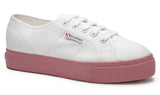 2730 Cotu Canvas in White Dusty Rose