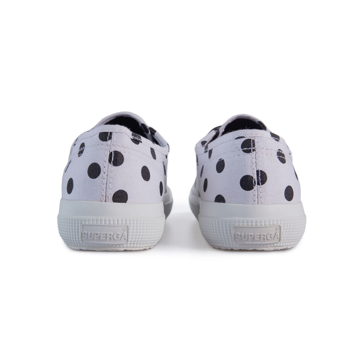 2750 Polka Dots White Black