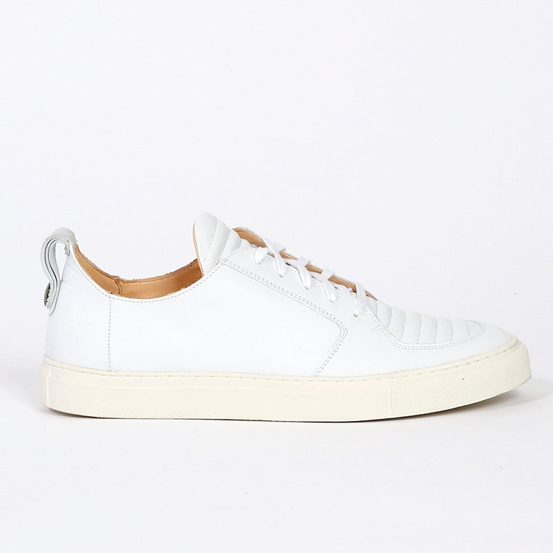 Argan Low White, Sneakers, Ekn, Milu James St
