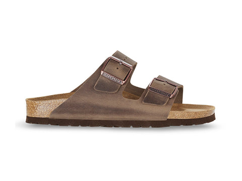 Arizona Oiled Leather in Tabacco (Classic Footbed), Sandals, Birkenstock, Milu James St