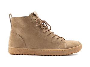 Bartlett Mens suede sand leather boot