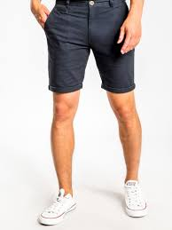 Malabar Chino Short in Navy or Stone or Army, Mens Shorts, Article no 1, Milu James St